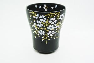桜フリーカップ 大(黒)