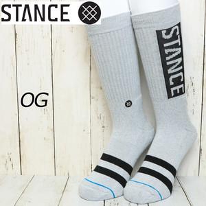 [クリックポスト対応] STANCE スタンス OG ソックス 靴下 M556D17OGG GREY