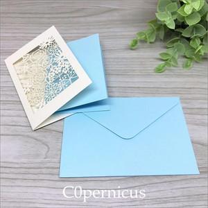 Blueメッセージカード/ミニカード /0326-3<便箋・封筒・レターセット> 浜松雑貨屋 C0pernicus