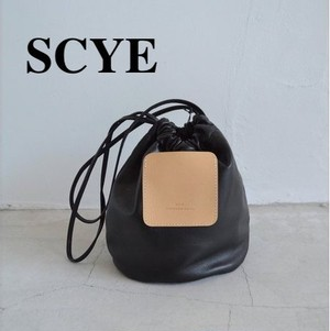 SCYE/サイ・SOFT LEATHER DRAWSTRING POUCH
