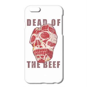 送料無料 [iPhone ケース] skull beef