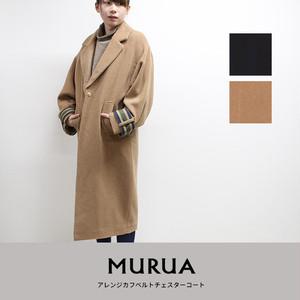 MURUA | アレンジカフベルトチェスターコート  011850000701