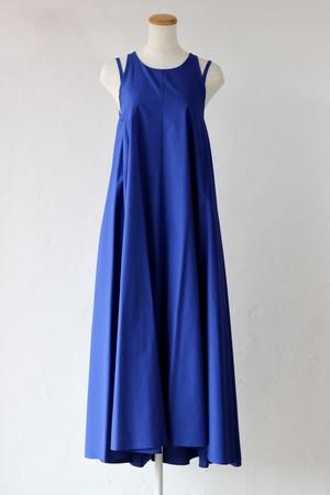 【SAYAKADAVIS】double strap dress-lapis blue