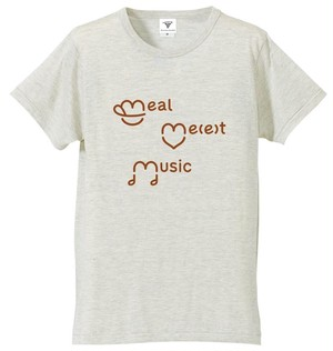 meal me(e)t music T-shirt