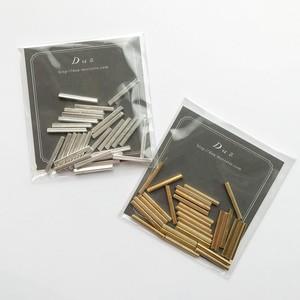 インド真鍮竹ビーズパック(18mm/30p)