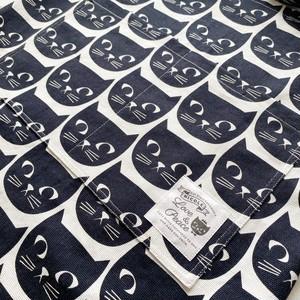 黒猫カフェエプロン