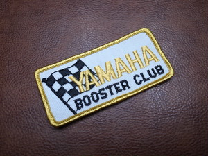 YAMAHA BOOSTER CLUB Vintage Patch