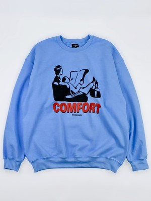 "WACK WACK ""COMFORT crewneck sweat shirt"""