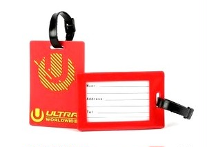 ULTRA ラゲッジネームタグ TYPE-1(レッド)