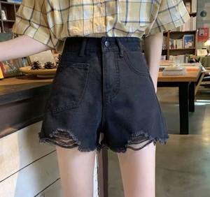 ★07087 レディースファッション デニム ボトムス ショートパンツ 春夏 2019新作