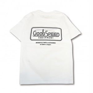 GOODSPEED equipment EVILACT(イーブルアクト) / Official Logo S/S T's(white)