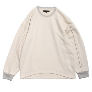 "QUOLT / クオルト | "" OFF-SLEEVE SWEAT "" -  cream"