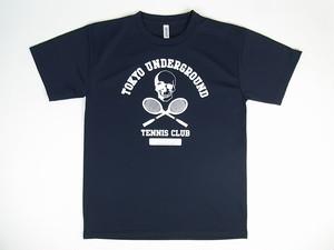 TUTC DryTシャツ ネイビーxホワイト TS-001