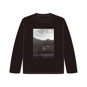 長島大三朗 × barTAKIBI ロングスリーブTシャツ (白) (黒)