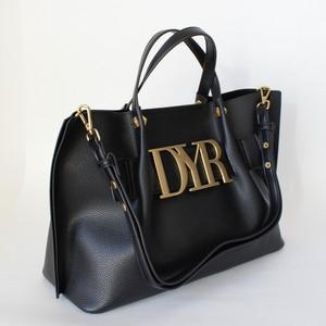 DENNY ROSE ゴールドロゴデザイン2WAYトートバッグ:021DD90002 ¥27,000+tax