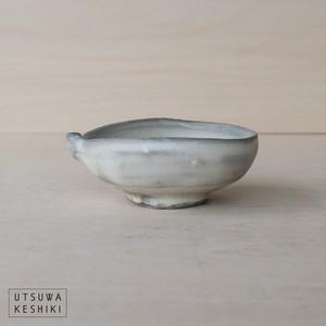 [平岡 仁]粉引 片口ぐい呑