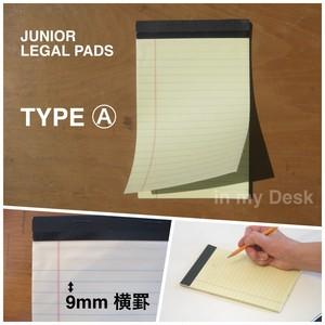 Junior Legal Pads 【ジュニア・リーガルパッド】アメリカのライティッグパッド 5種類から選べます
