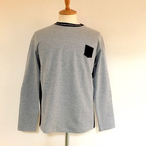 Switch Knit Cut & Sewn Gray / Black