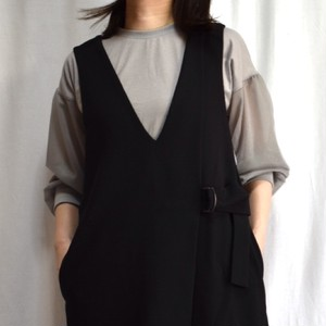 tulle sleeve pullover チュール袖 トップス