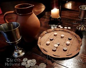 中世のボードゲーム