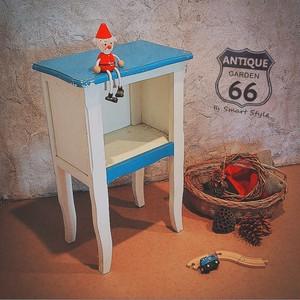 子供部屋ベッドサイドテーブル・サイドボードーUSAヴィンテージ キッズルーム家具【C-006】