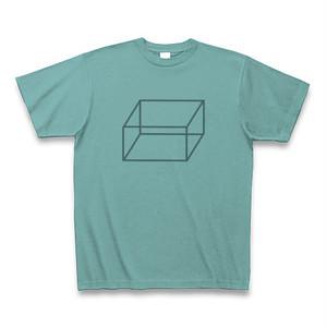 半袖Tシャツ <シンプルなイラスト入り・ミント>