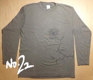 No.22「花」長袖 (M)