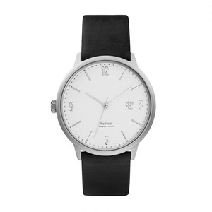 【CHPO】Wednesday Silver Silver dial / Black vegan leather strap