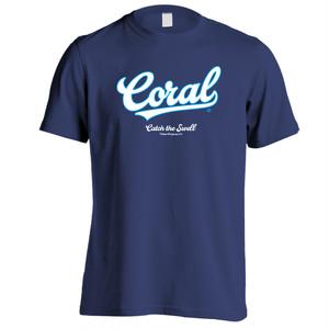 CORAL Tシャツ2018:ネイビー