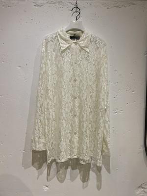 vintage sheer lace shirt
