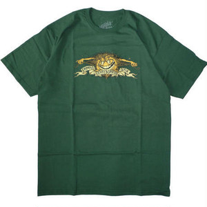 ANTIHERO GRIMPLESTIX S/S EAGLE FOREST GREEN