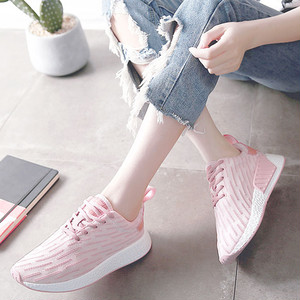 【sneakers】Small white   student sports thick bottom sneakers