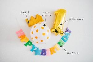 バースデーアイテム4点セット 【期間限定】