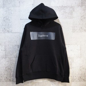 SUPREME × Swarovski 19SS 25th Anniversary Box Logo Hooded Sweatshirt