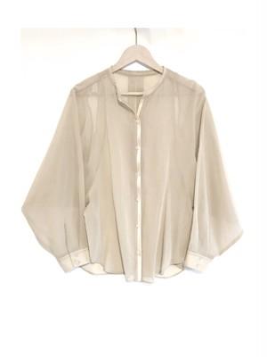 BRISEMY Organgy back slit shirts ブライズミー オーガンジーバックスリットシャツ