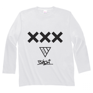 ERICH / XXX LONG SLEEVE T-SHIRT WHITE