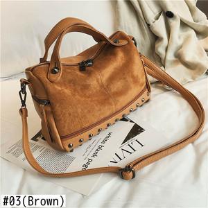 Large Capacity Leather Shoulder Bag Top Handle Bag Retro Tote Bag レトロ ショルダーバッグ トートバッグ レザー (HF99-0252496)