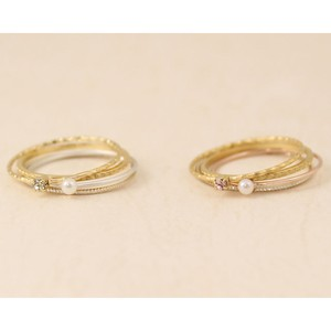 thin rings セットリング