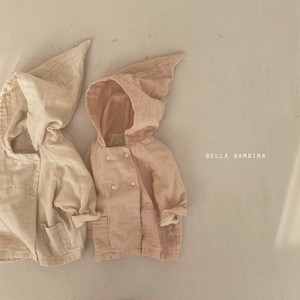 【予約販売】tongari-hoody jacket【baby】〈BELLA BAMBINA〉