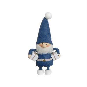 欲張りな青い服のサンタ/NORDIKA nisse/デンマーク