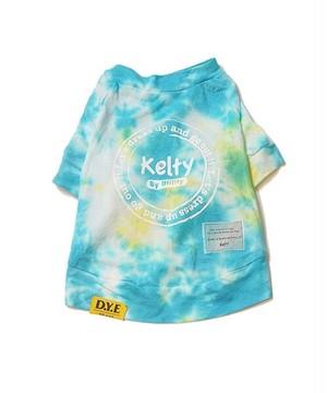 【新作】keltyプリント タイダイ染めT-shirt