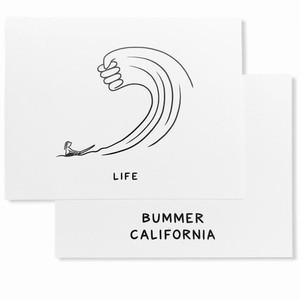 Bummer California - LIFE POSTCARD