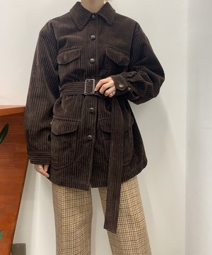 1990s GAP corduroy safari jacket 【S】