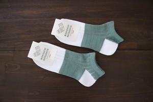 リネンコットンアンクレット NISHIGUCHI KUTSUSHITA 西口靴下 <日本製・奈良>