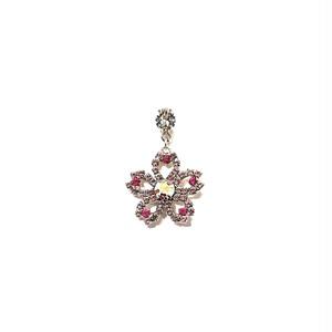 ピンブローチ 15D-桜