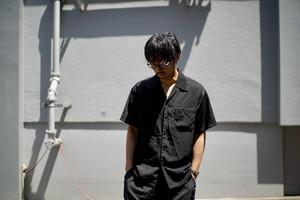 Cal Top / open collar S/S shirt