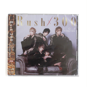 【Rush×300】4thシングル「T.O.P-As King Cobra-(初回盤)」