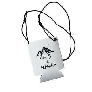 MANIKA Original Logo Koozie 350ml by Tatsuya Hirayama / White