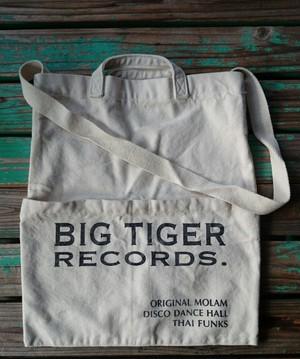RECORD&CD ショルダー付トートバック/BIG TIGER