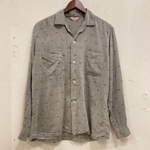 "60's ""Bond"" Open Collar Shirt​s"